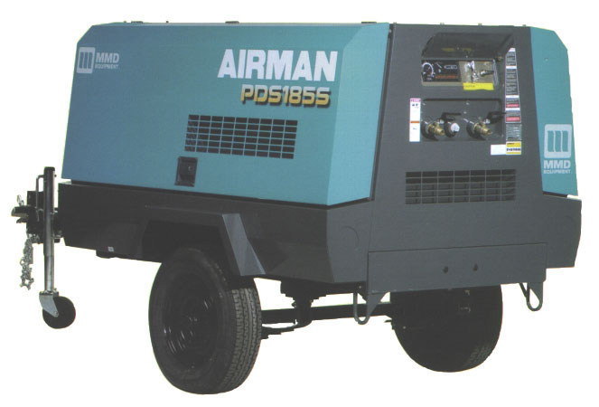 Airman compressors by MMD Equipment