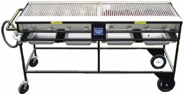 BRMC Classic Club stainless steel LP gas grill