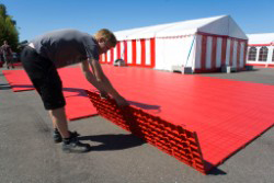 IkaFloor 'set & drop' tent floors
