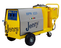 Jenny hot pressure washers & steam cleaners