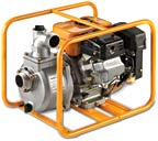 Subaru engine drive dewatering & trash pumps