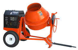 Toker MM10 9 cu ft concrete mixer w/ 5.5 or 8 hp Honda