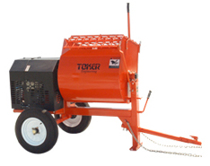 Toker MM10 9 cu ft mortar mixer w/ 5.5 or 8 hp Honda
